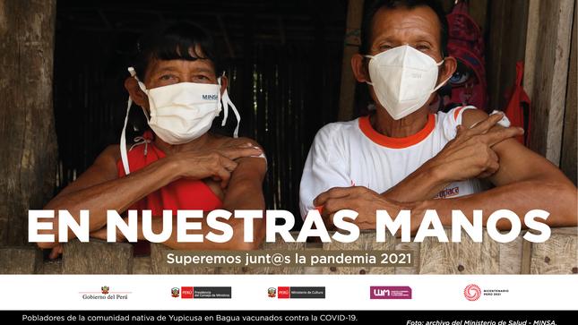 """""""En nuestras manos. Superemos junt@s la pandemia 2021"""