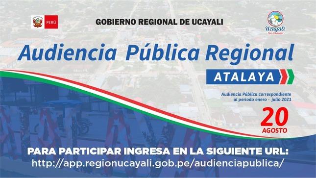 I Audiencia Publica Regional