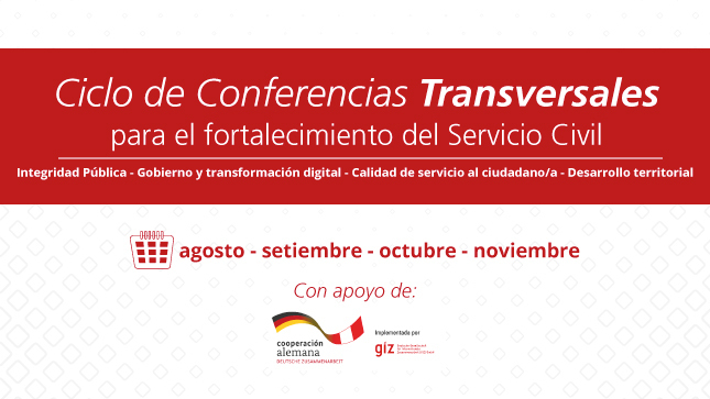Ciclo de Conferencias Transversales