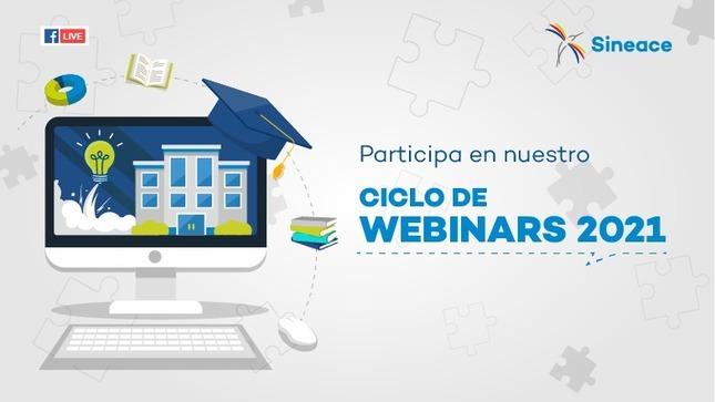 Ciclo de webinars 2021: Gestión de la calidad educativa
