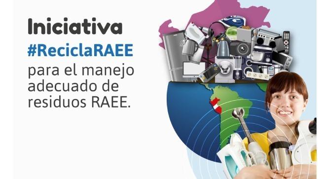 #ReciclaRAEE