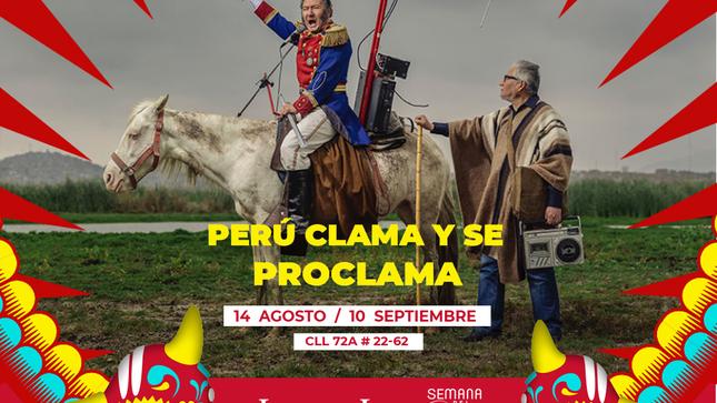 """Exposición """"Perú clama y se proclama"""""""