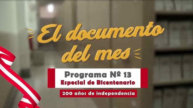 """AGN """"El documento del mes"""" (decimotercer microprograma)"""