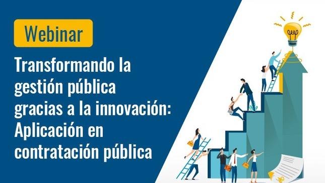 Webinar: Innovación sobre Contratación Pública