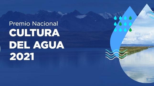 Premio Nacional Cultura del Agua 2021