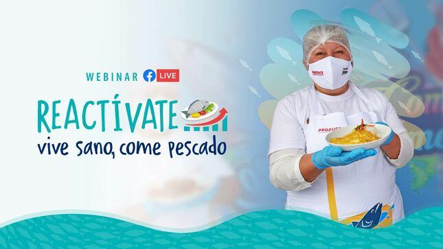 Webinar | Reactívate - Vive sano, come pescado