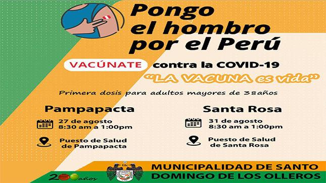 Campaña de Vacunación - MDSDO