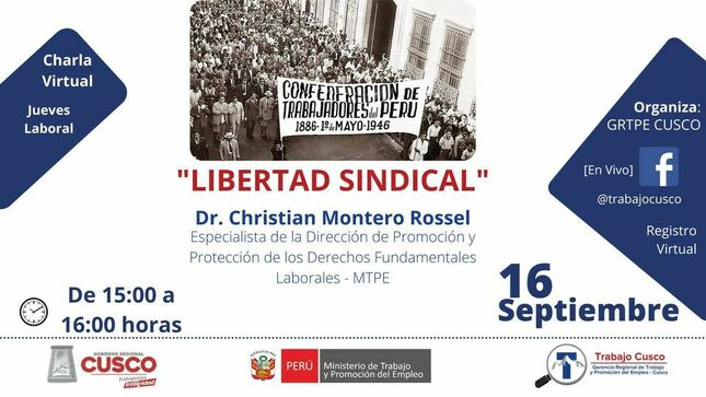 JUEVES LABORAL: Libertad Sindical