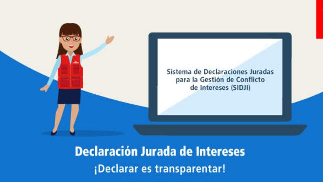 Declaración Jurada de Intereses. ¡Declarar es transparentar!