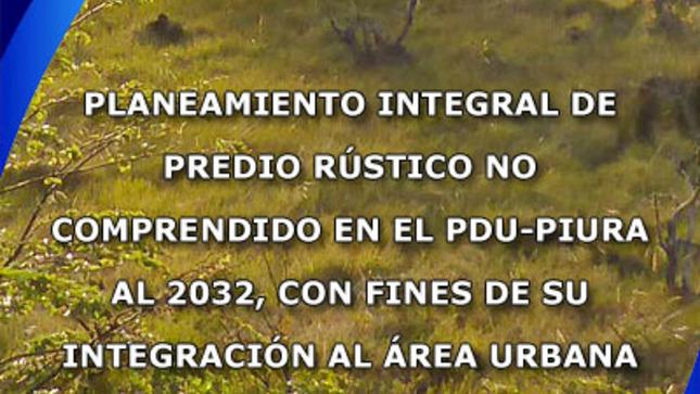 Planeamiento Integral - SMN INMOBILIARIA SAC