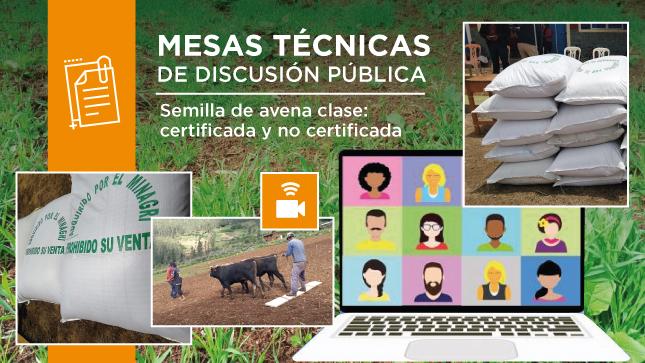 Mesas técnicas de discusión pública - Fichas de Homologación