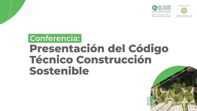 Presentación del Código Técnico Construcción Sostenible