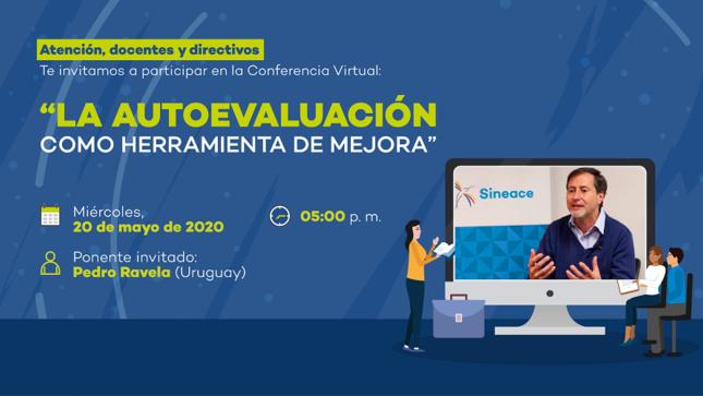 Experto uruguayo Pedro Ravela brinda conferencia virtual sobre la autoevaluación