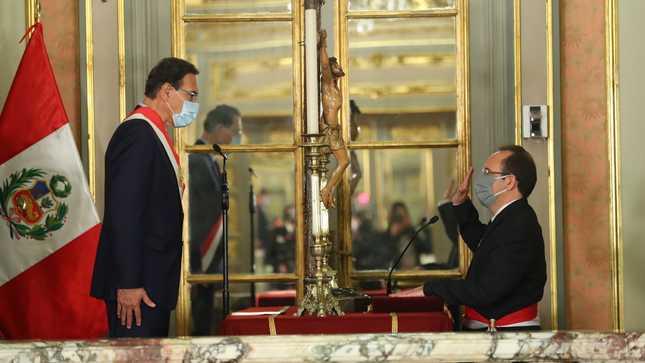 José Salardi Rodríguez jura como nuevo ministro de la Producción