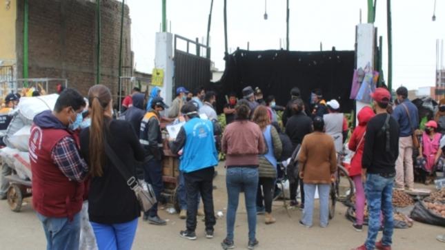 MPT clausuró por 30 días dos corralones frente a La Hermelinda