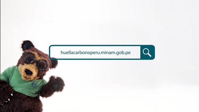"""Minam: campaña con el oso """"Nono"""" busca que más empresas se registren en la herramienta Huella de Carbono Perú"""