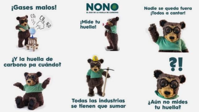 """Conoce a """"Nono"""", el oso peruano de la huella de carbono"""