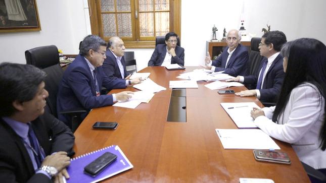 PCM coordina acciones para implementar la Visión del Perú al 2050