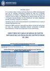 Vista preliminar de documento Mesa de partes electrónica (MPE) - Distrito Fiscal de Lima Centro