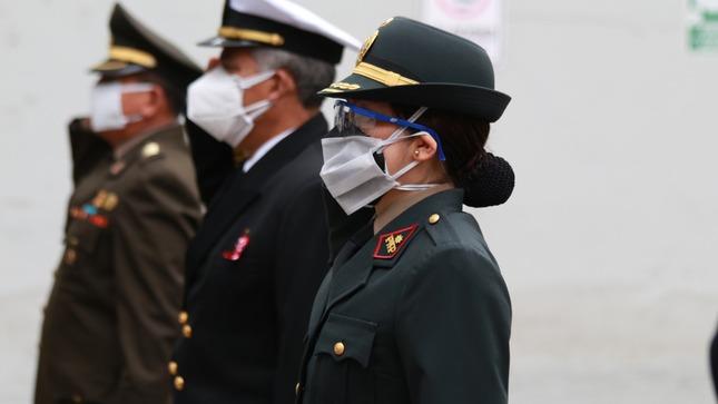 Fuero Militar Policial continuará en misión junto a las Fuerzas Armadas y la Policia Nacional durante la lucha contra la pandemia