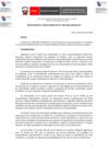 Vista preliminar de documento Reglamento del procedimiento de licenciamiento para universidades nuevas