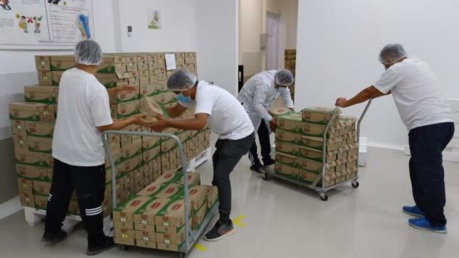 Qali Warma: se entregan más de 10 toneladas de alimentos a municipalidades de Tumán y Mochumí