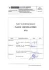 Vista preliminar de documento Plan de Comunicaciones