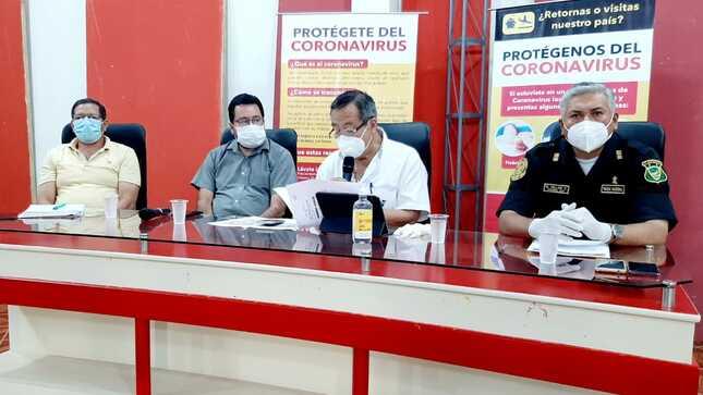 Gobierno Regional de Madre de Dios vigilará otras provincias que no entran en cuarentena focalizada