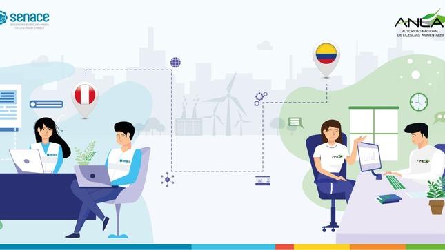 Perú y Colombia inician jornadas de trabajo virtuales sobre certificación ambiental