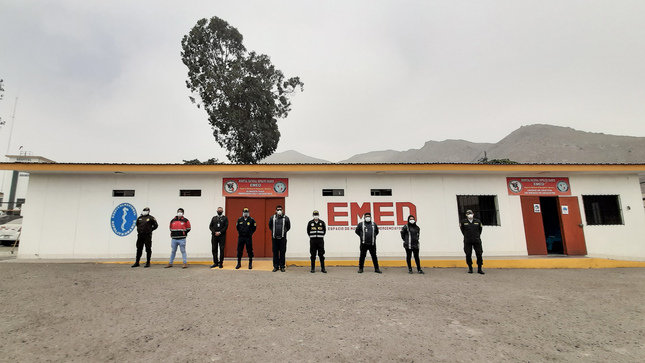 Hospital Nacional Hipólito Unanue Implementa Comunicación Aire-Tierra para Evacuación Aérea de Pacientes