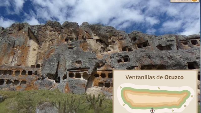 Las Ventanillas de Otuzco se suman a los recorridos virtuales del Ministerio de Cultura