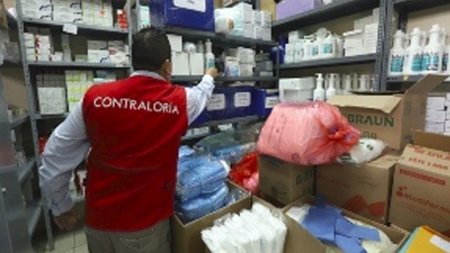 N° 498-2020-CG-GCOC: Advierten inconsistencias en stock de medicinas para COVID-19 en Hospital Jerusalén