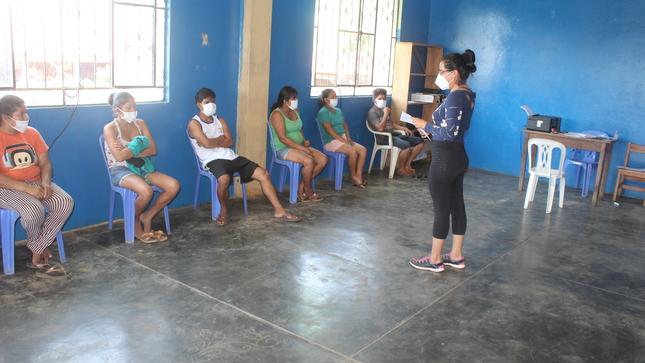 Programa Trabaja Peru en Convenio con la Municipalidad Distrital de Tahuania, Brindan Trabajo a Pobladores del Distrito