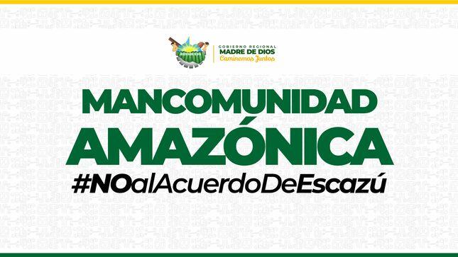 Acuerdo de Escazu: pronunciamiento de la Mancomunidad Amazónica