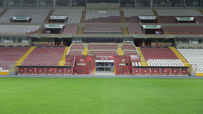 IPD deja listo el Estadio Nacional para los partidos de la Liga 1