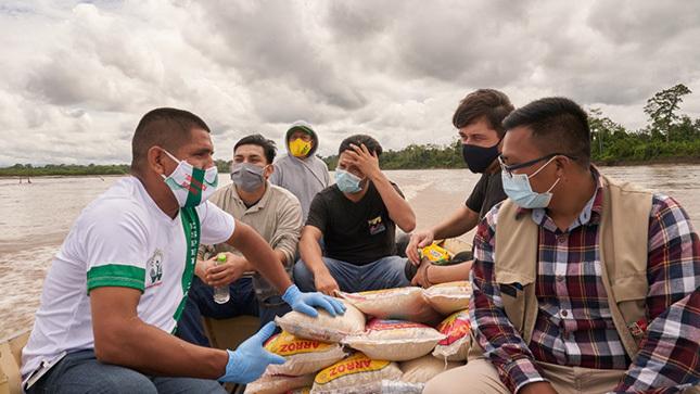 Talento de Amazonas regresó a su comunidad para enfrentar al COVID-19