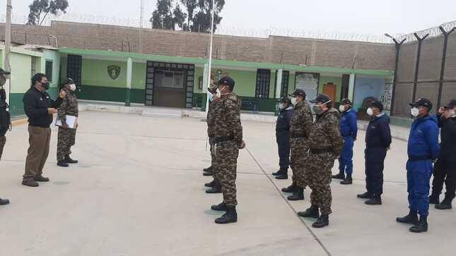 Arequipa: Intensifican charlas al personal penitenciario y reos en la fase 3 del coronavirus