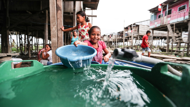 Arranca Perú: MVCS transfiere más de S/47 millones para la ejecución de 17 obras de agua y desagüe