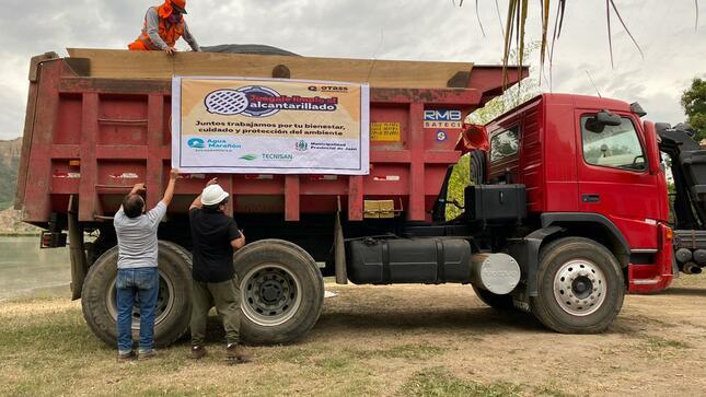 EPS Marañón inicia obra con inversión de casi S/ 2 millones que beneficiará a 71 mil pobladores y minimizará impactos al ambiente