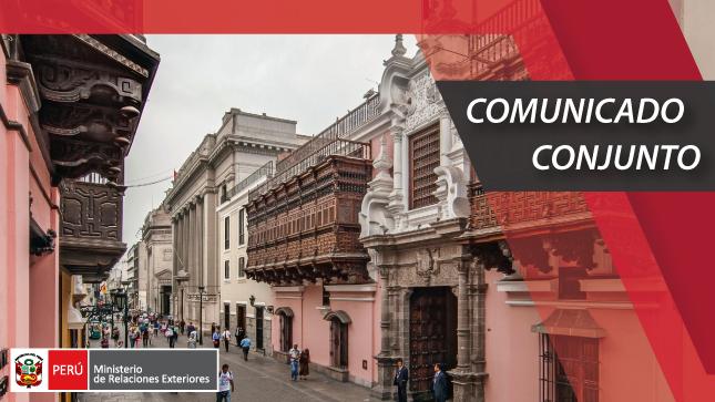 El Perú y Colombia acuerdan un Plan Binacional para enfrentar conjuntamente la pandemia del COVID-19 en la zona de frontera
