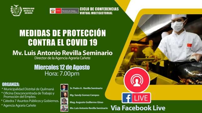 Medidas de protección contra el Covid 19