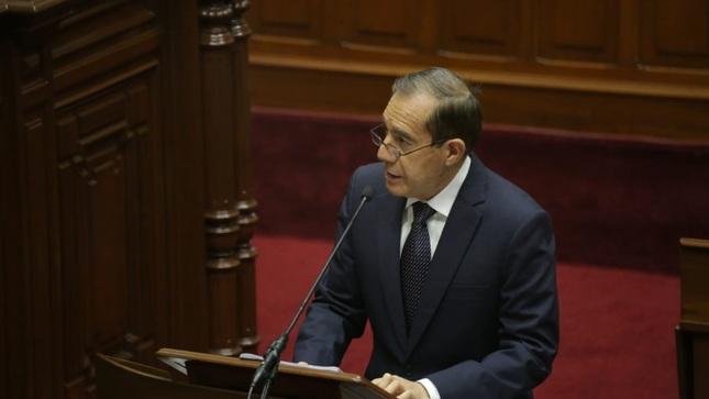 """Primer ministro, Walter Martos: """"El Perú ha apostado por la transición hacia la economía circular"""""""