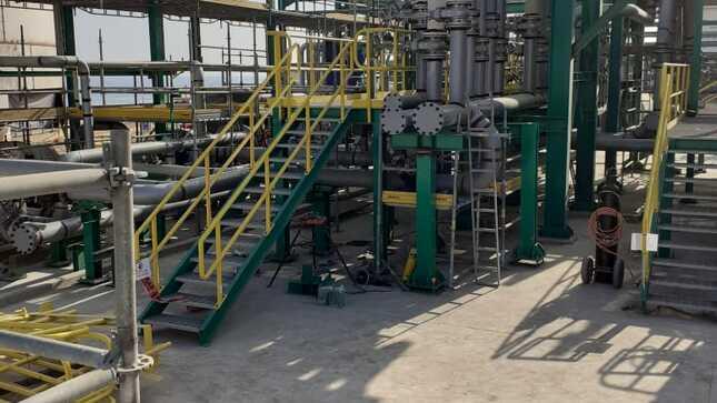Avanzan obras en el Terminal Portuario Multiboyas Monte Azul