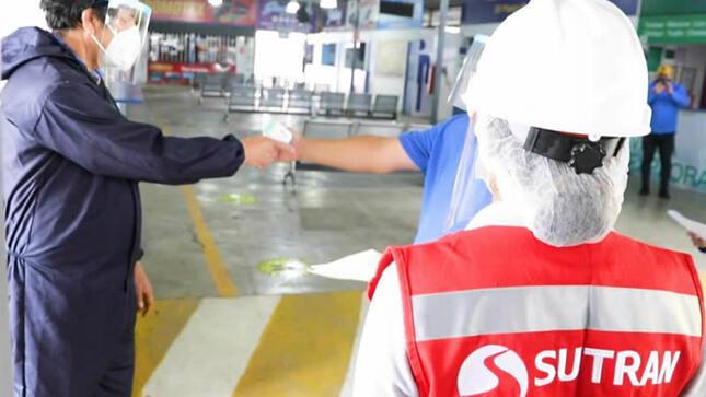 SUTRAN: transporte interprovincial movilizó a 81 mil personas en el país