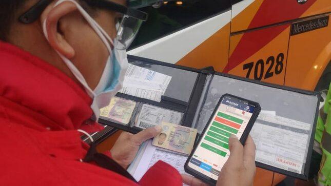Fiscamóvil: conoce la principal herramienta que la SUTRAN utiliza para fiscalizar el servicio de transporte