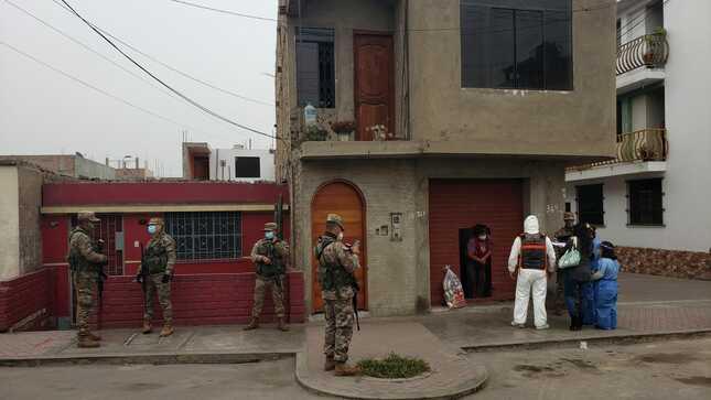 En Huaral, se realizó la entrega de kits de alimentos en el marco del plan Tayta