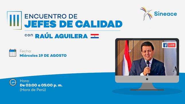 Presidente del ANEAES de Paraguay dará conferencia sobre la evaluación virtual de competencias