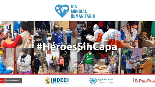 El Perú reconocerá a trabajadores humanitarios