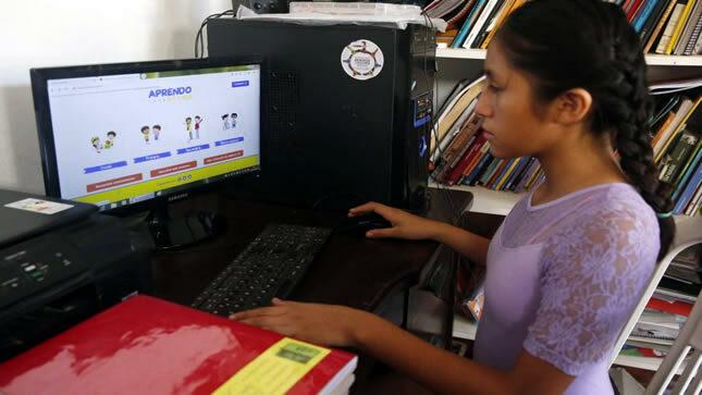 Aprendo en casa: acompañamiento docente a nivel nacional llega al 85.9 % de las familias