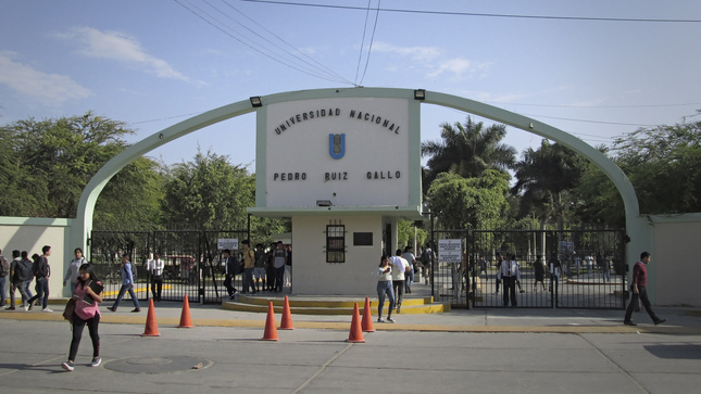SUNEDU deniega la licencia institucional a la Universidad Nacional Pedro Ruiz Gallo